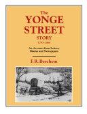 Pdf The Yonge Street Story, 1793-1860 Telecharger