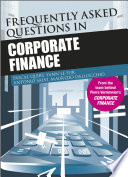 Frequently Asked Questions In Corporate Finance PDF