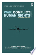 War, Conflict and Human Rights  : Theory and Practice