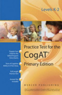 Practice Test for the Cognitive Abilities Test CogAT® Primary Edition (Levels K - 2)