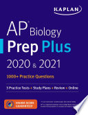 AP Biology Prep Plus 2020   2021 Book