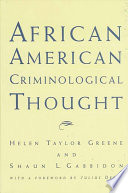African American Criminological Thought Book PDF