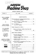 Modern Machine Shop Book