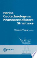 Marine Geotechnology and Nearshore offshore Structures Book