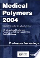 Fourth International Conference Focusing on Polymers Used in the Medical Industry