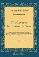 The Century Cyclopedia of Names