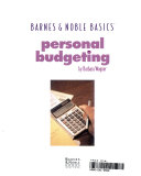 Personal Budget Book