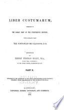 Rerum Britannicarum Medii Aevi Scriptores Book