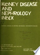 Kidney Disease and Nephrology Index
