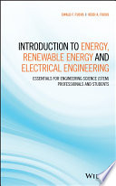 Introduction to Energy  Renewable Energy and Electrical Engineering Book