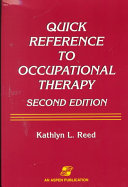Quick Reference to Occupational Therapy Book
