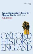 Pdf From Domesday Book to Magna Carta, 1087-1216