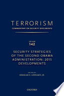 TERRORISM  COMMENTARY ON SECURITY DOCUMENTS VOLUME 142