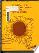 Potential for Oilseed Sunflowers in the United States