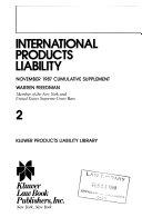 Pdf International Products Liability
