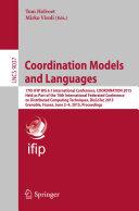 Pdf Coordination Models and Languages