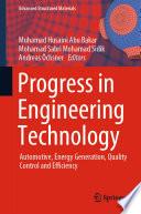 Progress in Engineering Technology
