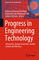 Progress in Engineering Technology Pdf/ePub eBook