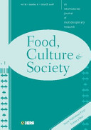 Food  Culture and Society Volume 11 Issue 1