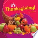 It s Thanksgiving
