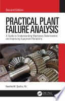 Practical Plant Failure Analysis Book