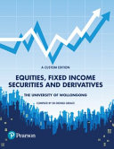 Cover of Equities, Fixed Income Securities and Derivatives (Custom Edition)