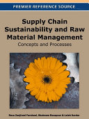 Supply Chain Sustainability and Raw Material Management  Concepts and Processes