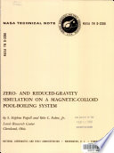 Zero- and Reduced-gravity Simulation on a Magnetic-colloid Pool-boiling System