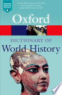 A Dictionary of World History Book