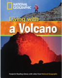 Footprint Reading Library   Living with a Volcano  Book   DVD