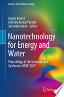 Nanotechnology for Energy and Water Book