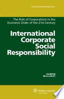 International Corporate Social Responsibility