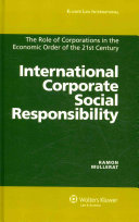 International Corporate Social Responsibility