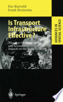 Is Transport Infrastructure Effective  Book