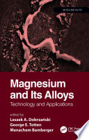 Magnesium and Its Alloys Book