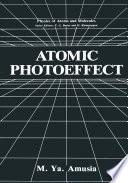 Atomic Photoeffect