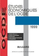 Pdf Études économiques de l'OCDE : Bulgarie 1999 Telecharger