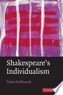 Shakespeare s Individualism