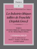 Pdf Les Industries lithiques taillées de Franchthi (Argolide, Grèce), Volume 2 Telecharger