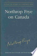 Northrop Frye on Canada