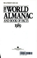 The World Almanac and Book of Facts  1989 Book