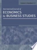 International Journal Of Economics And Business Studies