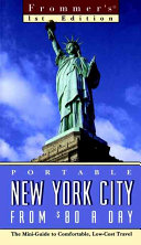 Frommer s   Portable New York City from  80 a Day