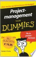 Projectmanagement Voor Dummies Pocketeditie