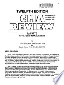Gleim CMA Review, Part 3, Strategic Management