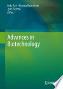 Advances in Biotechnology Book
