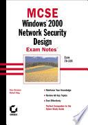 MCSE Windows 2000 Network Security Design Exam Notes Book