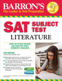 Barron s SAT Subject Test Literature with CD ROM