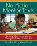 Nonfiction Mentor Texts: Teaching Informational Writing Through ...