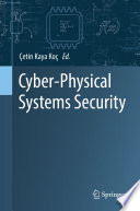 Cyber Physical Systems Security Book PDF